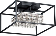 ET2 E23300-20BK Zephyr Contemporary Black LED Ceiling Lighting
