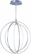 ET2 E24048-BP Concentric Contemporary Brushed Pewter LED 27 Ceiling Pendant Light