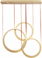 ET2 E24083-NAB Tether Contemporary Natural Aged Brass LED Multi Lighting Pendant