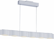 ET2 E24125-MW Billow Contemporary Matte White LED Kitchen Island Light