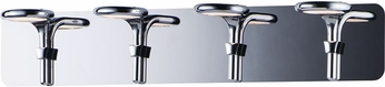 ET2 E24144-PC Cobra Modern Polished Chrome LED 4-Light Vanity Light