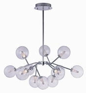 ET2 E24284-24PC Satellite Modern Polished Chrome LED Chandelier Lighting