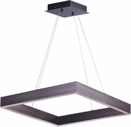 ET2 E24296-COF Metallika Contemporary Coffee LED 24.5  Drop Lighting Fixture