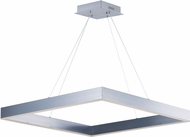ET2 E24297-AL Metallika Contemporary Brushed Aluminum LED 32.25  Pendant Light