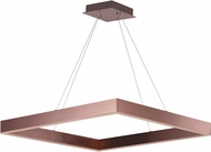 ET2 E24297-SC Metallika Contemporary Satin Copper LED 32.25  Pendant Lamp
