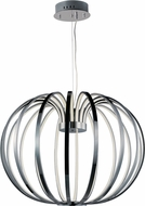 ET2 E24524-PC Argent Contemporary Polished Chrome LED Hanging Light