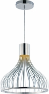 ET2 E24566-75PC Turbo Contemporary Polished Chrome LED Ceiling Light Pendant