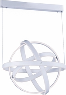 ET2 E24584-MW Gyro Modern Matte White LED Hanging Light