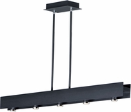 ET2 E24634-BKPC Beam LED Contemporary Black / Polished Chrome LED 44  Kitchen Island Lighting