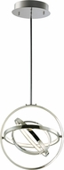 ET2 E24783-PC Gyro II Contemporary Polished Chrome LED 16  Pendant Light Fixture