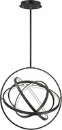 ET2 E24784-BK Gyro II Modern Black LED 24  Pendant Lighting Fixture