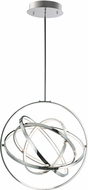 ET2 E24784-PC Gyro II Contemporary Polished Chrome LED 24  Hanging Pendant Lighting