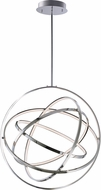 ET2 E24785-PC Gyro II Contemporary Polished Chrome LED 32  Pendant Hanging Light