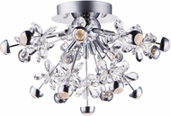 ET2 E24791-20PC Nova Contemporary Polished Chrome LED Ceiling Light