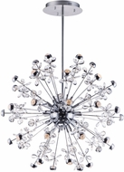ET2 E24795-20PC Nova Contemporary Polished Chrome LED Chandelier Light