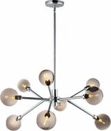 ET2 E24823-138PC Asteroid Contemporary Polished Chrome LED Chandelier Lighting