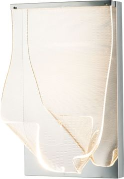 ET2 E24871-133PC Rinkle Contemporary Polished Chrome LED Lighting Wall Sconce