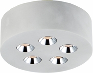 ET2 E25010-GY Peg Modern Gray LED Ceiling Light