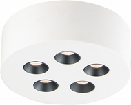 ET2 E25010-WT Peg Contemporary White LED Ceiling Light Fixture