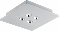 ET2 E25012-GY Peg Modern Gray LED Ceiling Lighting Fixture