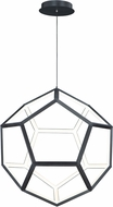 ET2 E25104-BK Penta Modern Black LED 22  Hanging Lamp