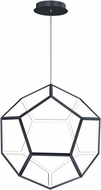 ET2 E25106-BK Penta Contemporary Black LED 28  Hanging Light