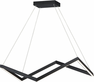 ET2 E30576-BK Stealth Modern Black LED Pendant Lamp