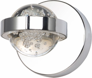 ET2 E30611-91PC Cosmo Modern Polished Chrome LED Lighting Sconce