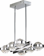 ET2 E30616-91PC Cosmo Contemporary Polished Chrome LED Drop Lighting