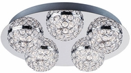 ET2 E31220-20PC Eclipse Contemporary Polished Chrome LED Overhead Light Fixture