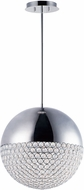 ET2 E31225-20PC Eclipse Modern Polished Chrome LED 16  Pendant Hanging Light
