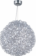 ET2 E32574-PC Dazed Contemporary Polished Chrome LED Ceiling Light Pendant