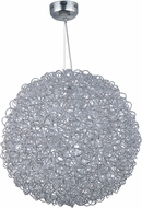 ET2 E32576-PC Dazed Modern Polished Chrome LED Ceiling Pendant Light