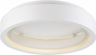 ET2 E35001-MW I-Corona Contemporary Matte White LED Ceiling Light Fixture