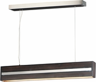 ET2 E35016-WEPC iWood Contemporary Wenge / Polished Chrome LED Kitchen Island Lighting