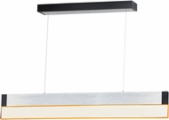 ET2 E35020-83AL iBar Modern Brushed Aluminum LED Kitchen Island Light Fixture