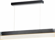 ET2 E35020-83BBK iBar Contemporary Brushed Black LED Island Lighting