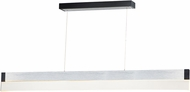 ET2 E35022-83AL iBar Modern Brushed Aluminum LED Kitchen Island Lighting