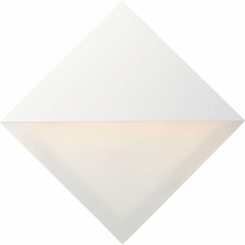 ET2 E41284-WT Alumilux Contemporary White LED Exterior Wall Sconce Lighting