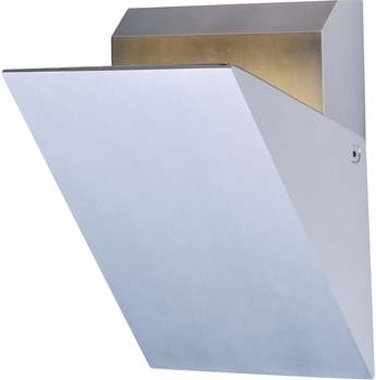 ET2 E41333-SA Alumilux LED Modern Satin Aluminum Outdoor Lighting Sconce
