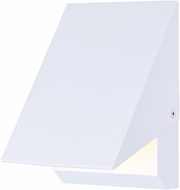 ET2 E41333-WT Alumilux LED Contemporary White Exterior Lamp Sconce