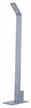 ET2 E41367-SA Alumilux Contemporary Satin Aluminum Finish 3.25  Wide LED Outdoor Pathway Lighting