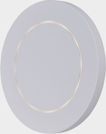 ET2 E41381-WT Alumilux Omicron Contemporary White LED Exterior 7  Lighting Wall Sconce