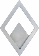 ET2 E41493-SA Alumilux Modern Satin Aluminum LED Exterior Wall Lighting Sconce