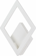 ET2 E41493-WT Alumilux Contemporary White LED Outdoor Wall Sconce Lighting