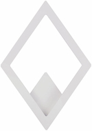 ET2 E41495-WT Alumilux Modern White LED Exterior Wall Lighting Fixture