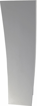 ET2 E41497-WT Alumilux Contemporary White LED Outdoor 20  Wall Sconce