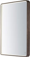 ET2 E42014-90BRZ Mirror Contemporary Anodized Bronze LED Rectangular Mirror