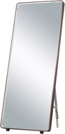 ET2 E42018-90BRZ Mirror Contemporary Anodized Bronze LED Free Standing Mirror