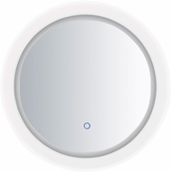 ET2 E42022-83 Mirror Modern White LED Round Mirror